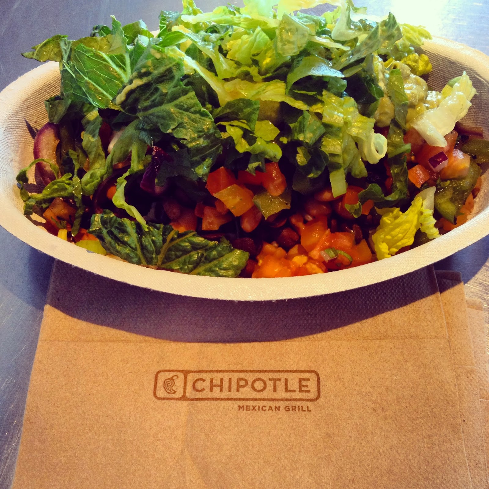 Chipotle Vegan Vegetarian Burrito Bowl