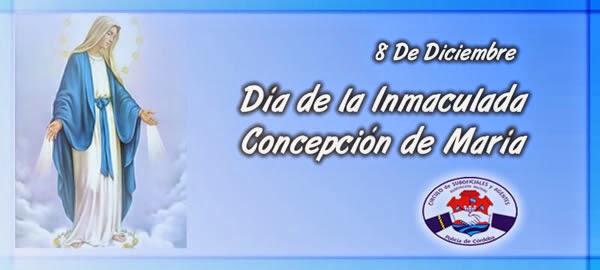 Dia De La Inmaculada Concepcion | 8 De Diciembre