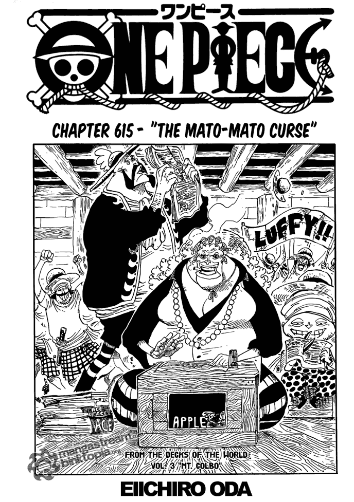 The Mato Mato Cursed| Read One Piece 615 Online | 00 - Press F5 to reload this image