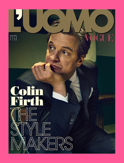 L'Uomo Vogue Covers with Colin Firth