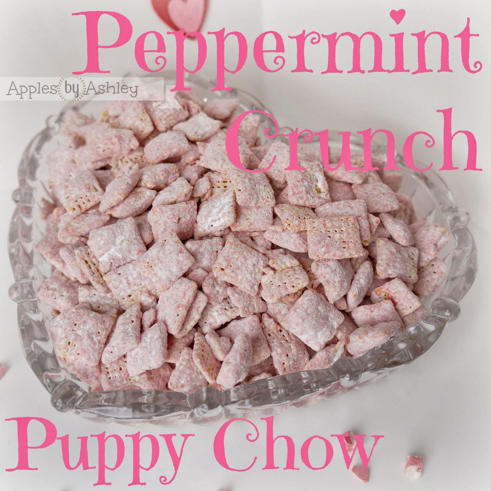 Peppermint Crunch Puppy Chow