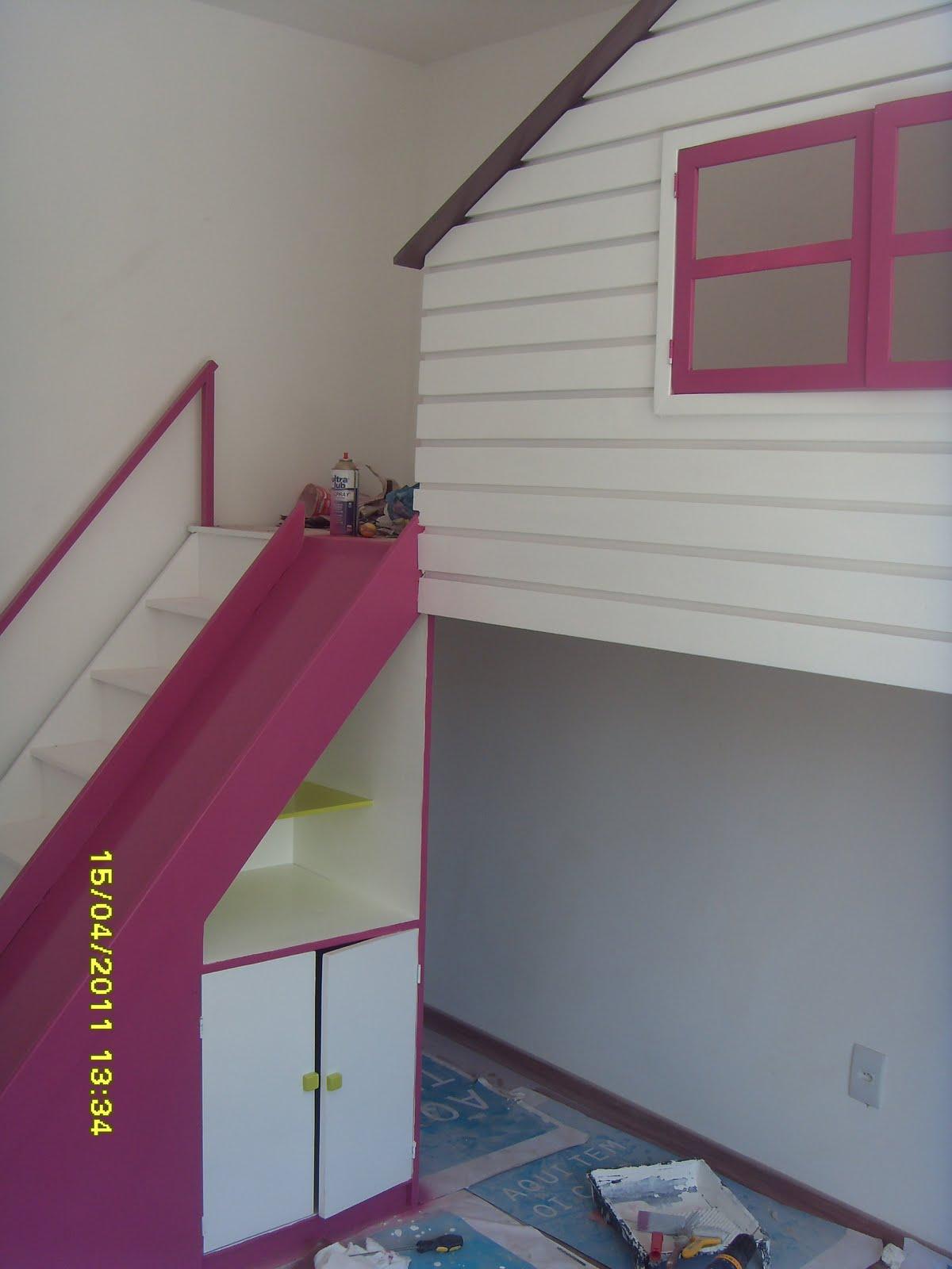 WTComercio: Casinha de boneca para quarto infantil madeira mdf com  #6D2F4A 1200x1600
