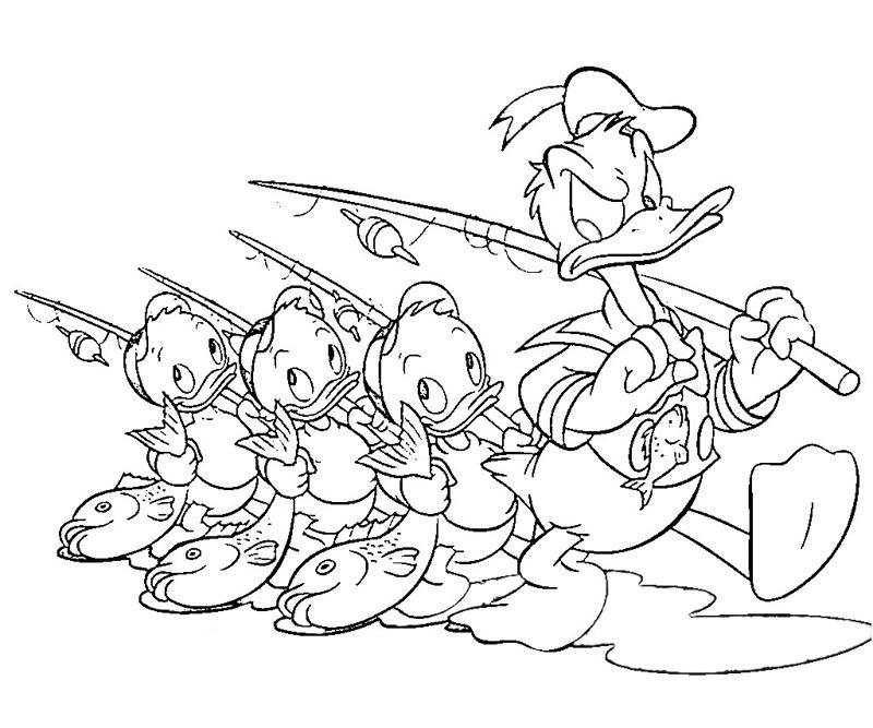 printable-donald-duck-characters-coloring-pages