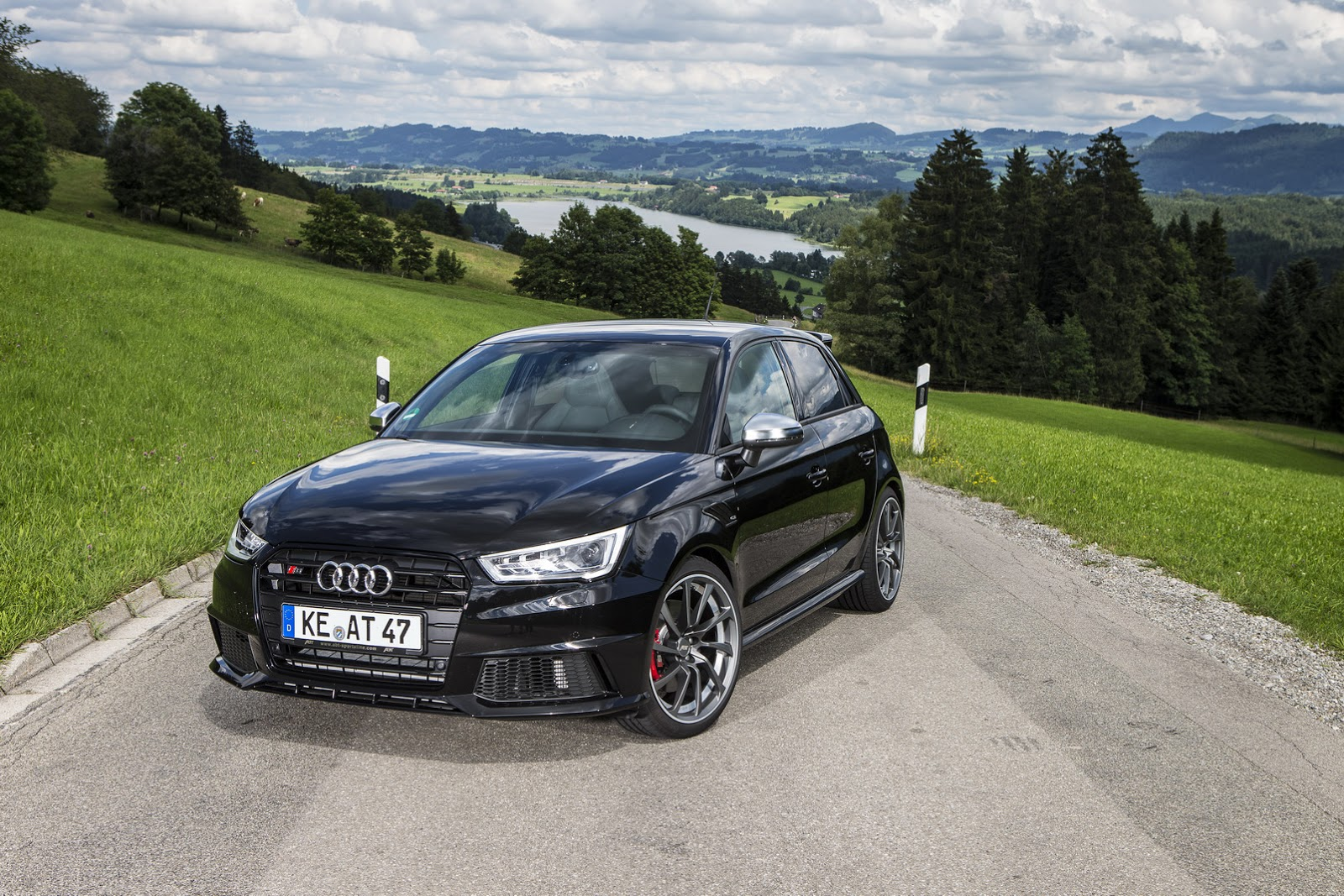 new audi s1 by abt has 310ps under its hood carscoops. Black Bedroom Furniture Sets. Home Design Ideas