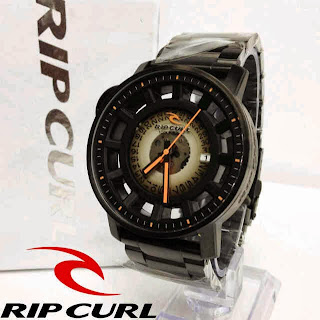 Jam Tangan Ripcurl Axis Midnight orange