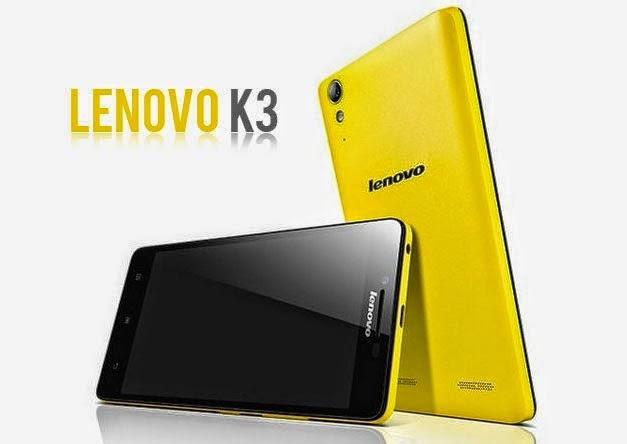 Harga Lenovo K3, Smartphone Dual Kamera murah