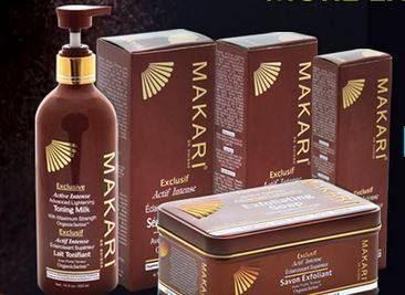 makari cream and soap