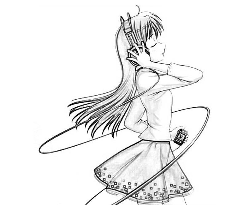 idolmaster-chihaya-kisaragi-cute-coloring-pages