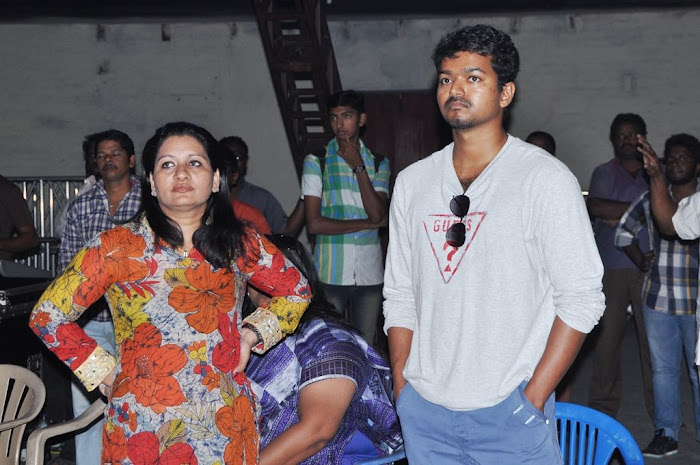 Actor vijay Latest Shooting Spot Stills leaked images