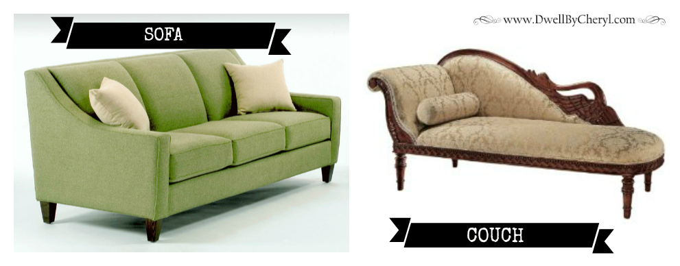 Difference Between A Couch And Sofa You Inpiration