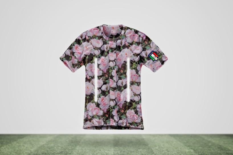 Camisetas del Mundial Brasil 2014, Diseños de Moda