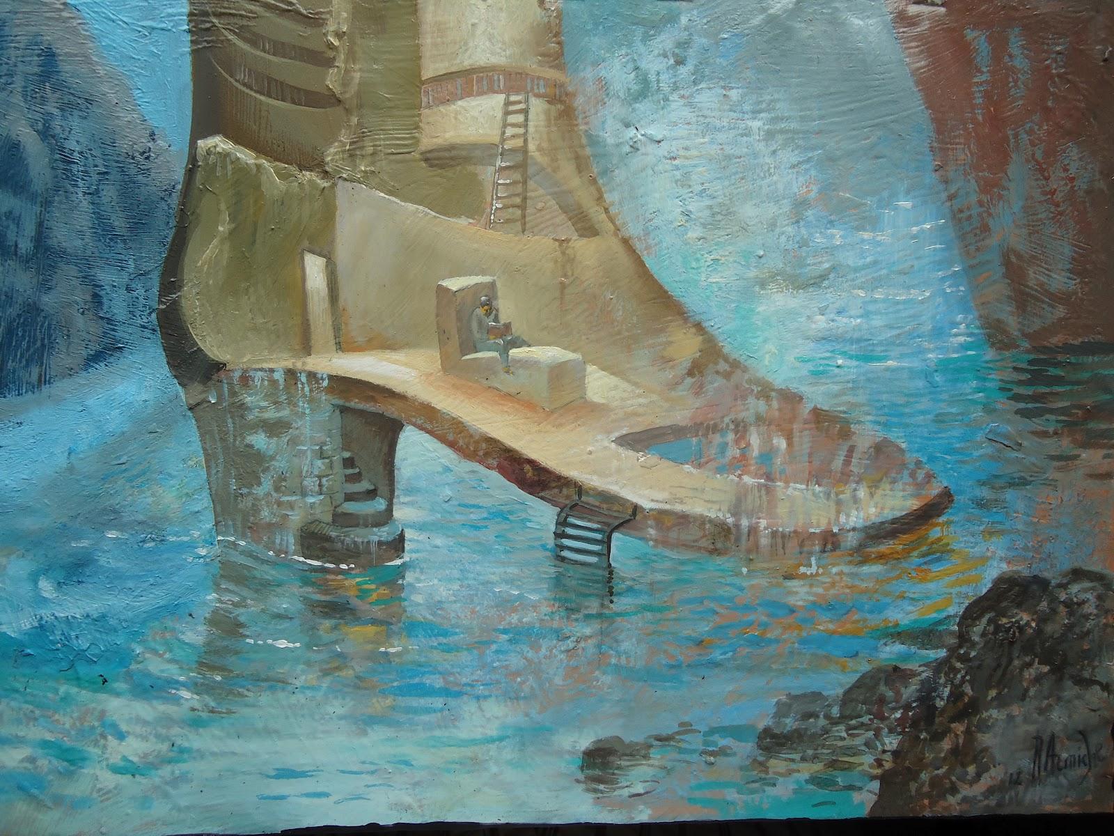 Rub n armiche hablemos de arte con zapatos y sombrero a - Galerista de arte ...