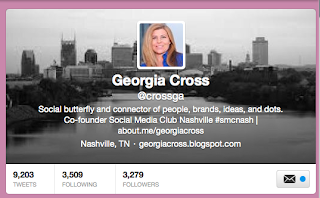 Georgia Cross Twitter | refresh personal brand