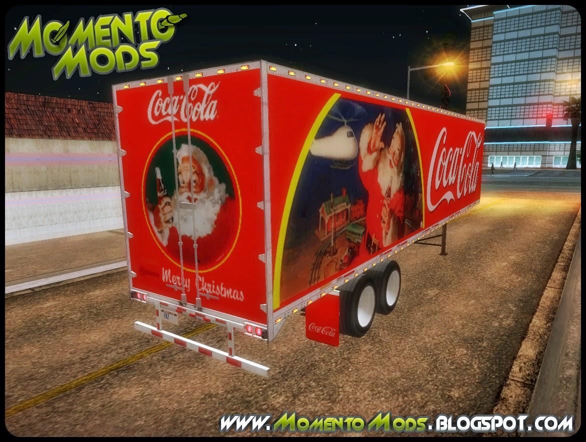 GTA SA - Caminhão Da Coca Cola De Natal + Trailer