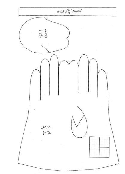 Sathiyas Nähprojekte: Handschuhe 2