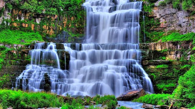 Hermosas imagenes hd de cascadas