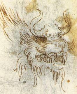 Leonardo da Vinci. Dragon