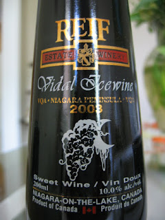 Bottle photo of 2003 Reif Estate Vidal Icewine