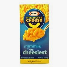 Kraft Macaroni and Cheese, Lauren the secret agent Hedgehog, February