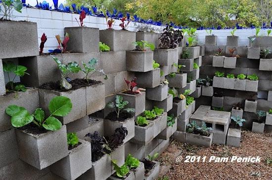 Superbe Cinder Block Garden Wall