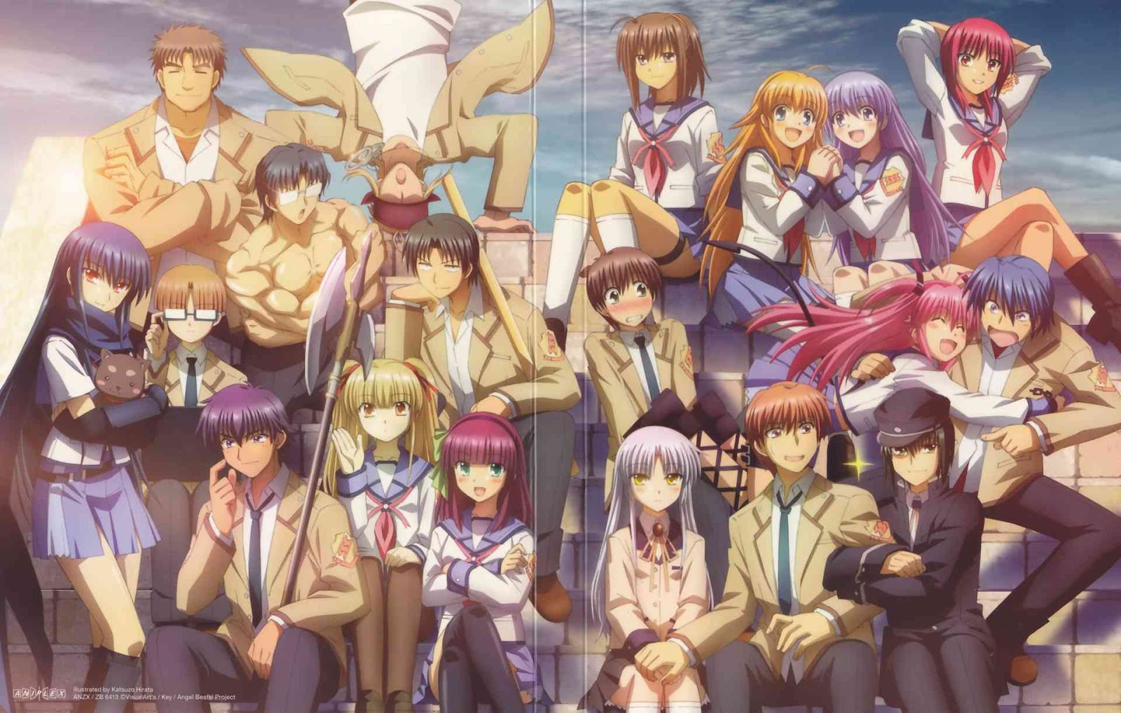 Angel Beats One Of The Best Anime