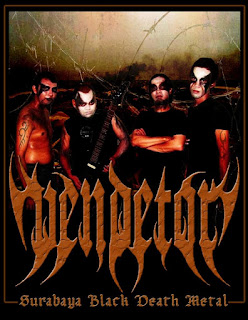 Vendetor Band Black Death Metal Surabaya Foto Logo Artwork Cover Wallpaper