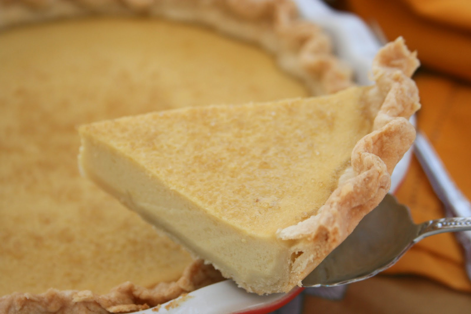 Buttermilk Maple Pie