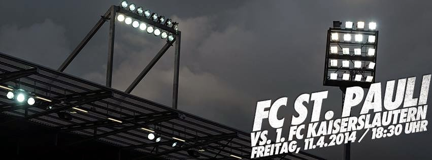 FC St. Pauli vs. FC Kaiserslautern - 30ª rodada