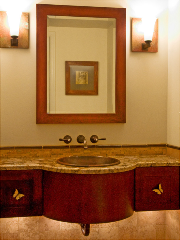 arts and crafts interior design ideas arts and crafts bathroom