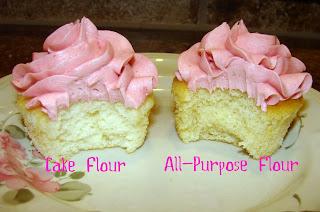 Cake Flour Vs All Purpose Recipe