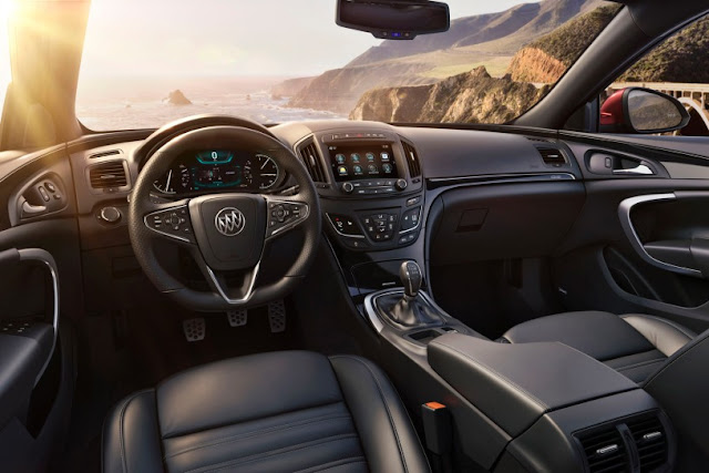 New 2015 Power Buick Regal Performance interior dashboard view