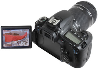Canon EOS 60D, full HD camera, Canon lens, professional photographer