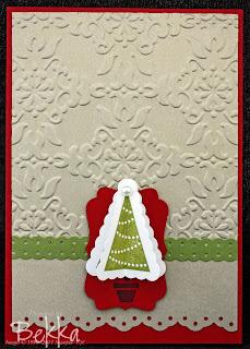 Pennant Parade Christmas Card