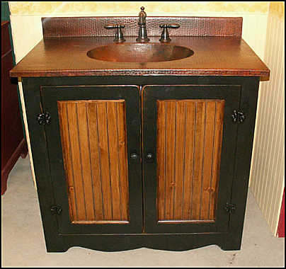 Country Style Wood Bathroom Vanity Design Tips Furniture Modern