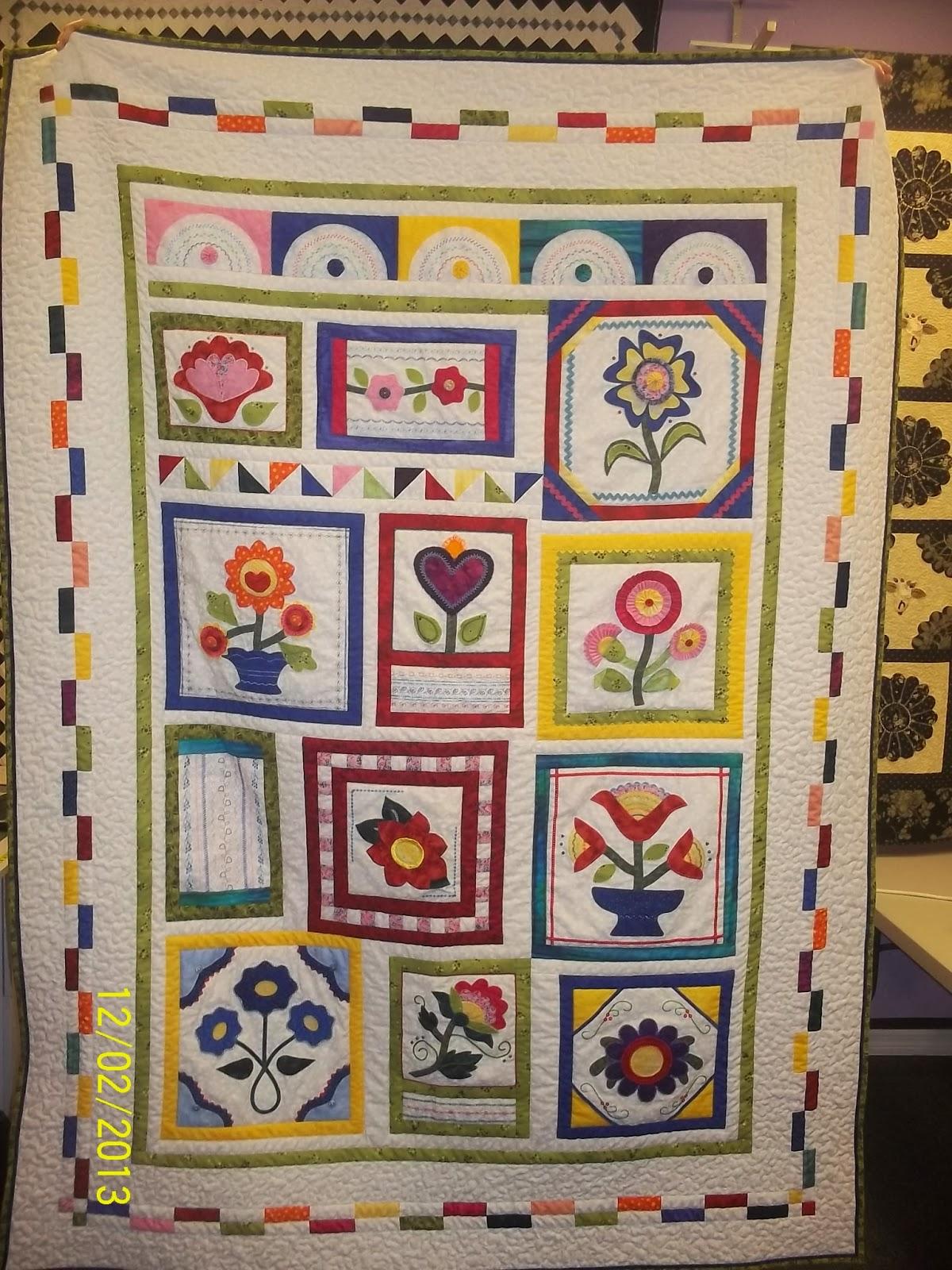Quilts Lace Stitcher 39 S Garden 2 Quilt