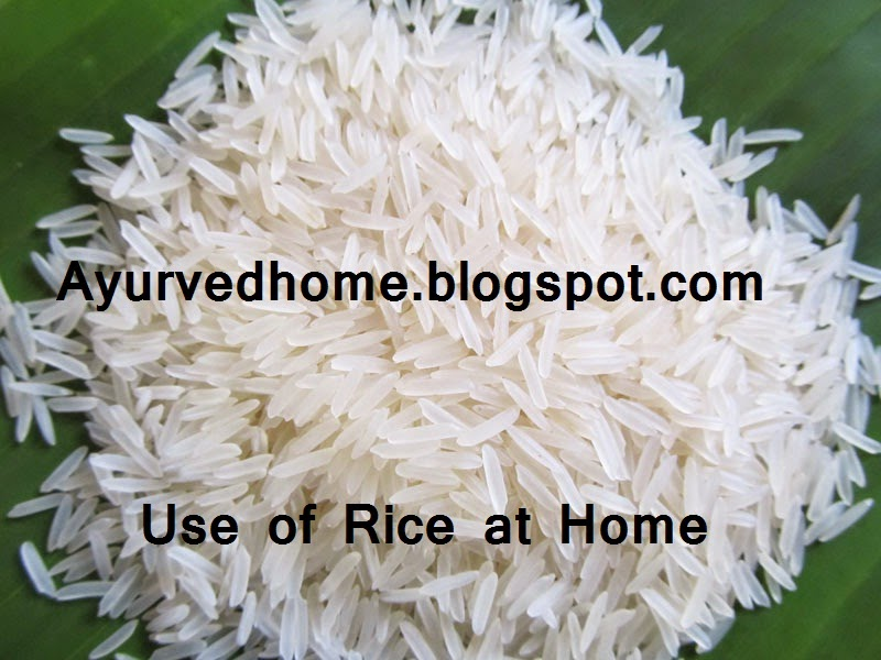 Medicinal use of Rice