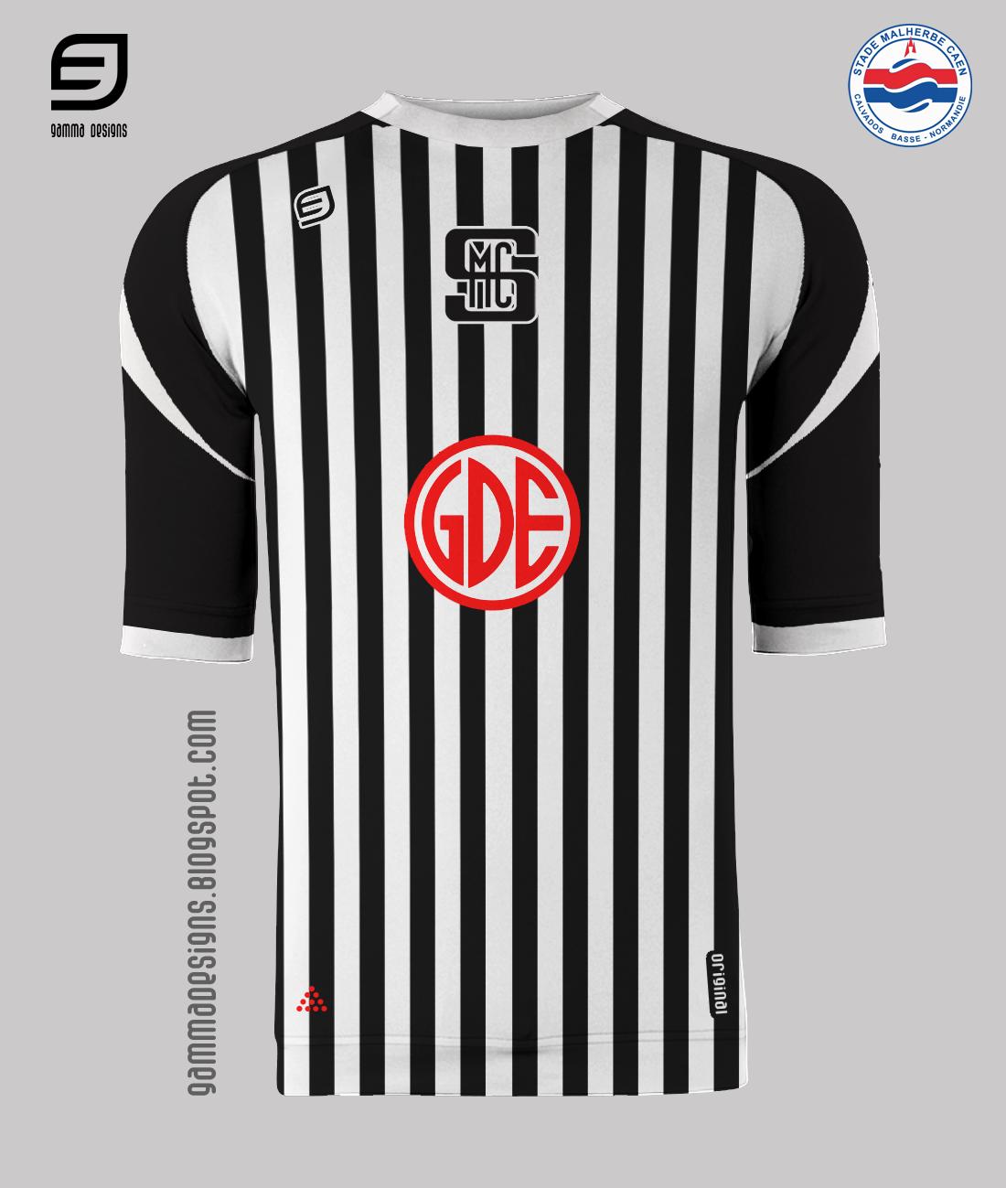 Gamma designs small tribute to ligue 2 caen for Inter home design