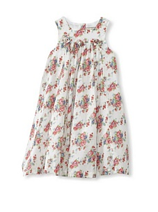 MyHabit: Girls Dress Deals: Darcy Brown London Baroque Dress - Soft fabric with feminine pleats, rosettes and attached frilly slip, buttons up the back