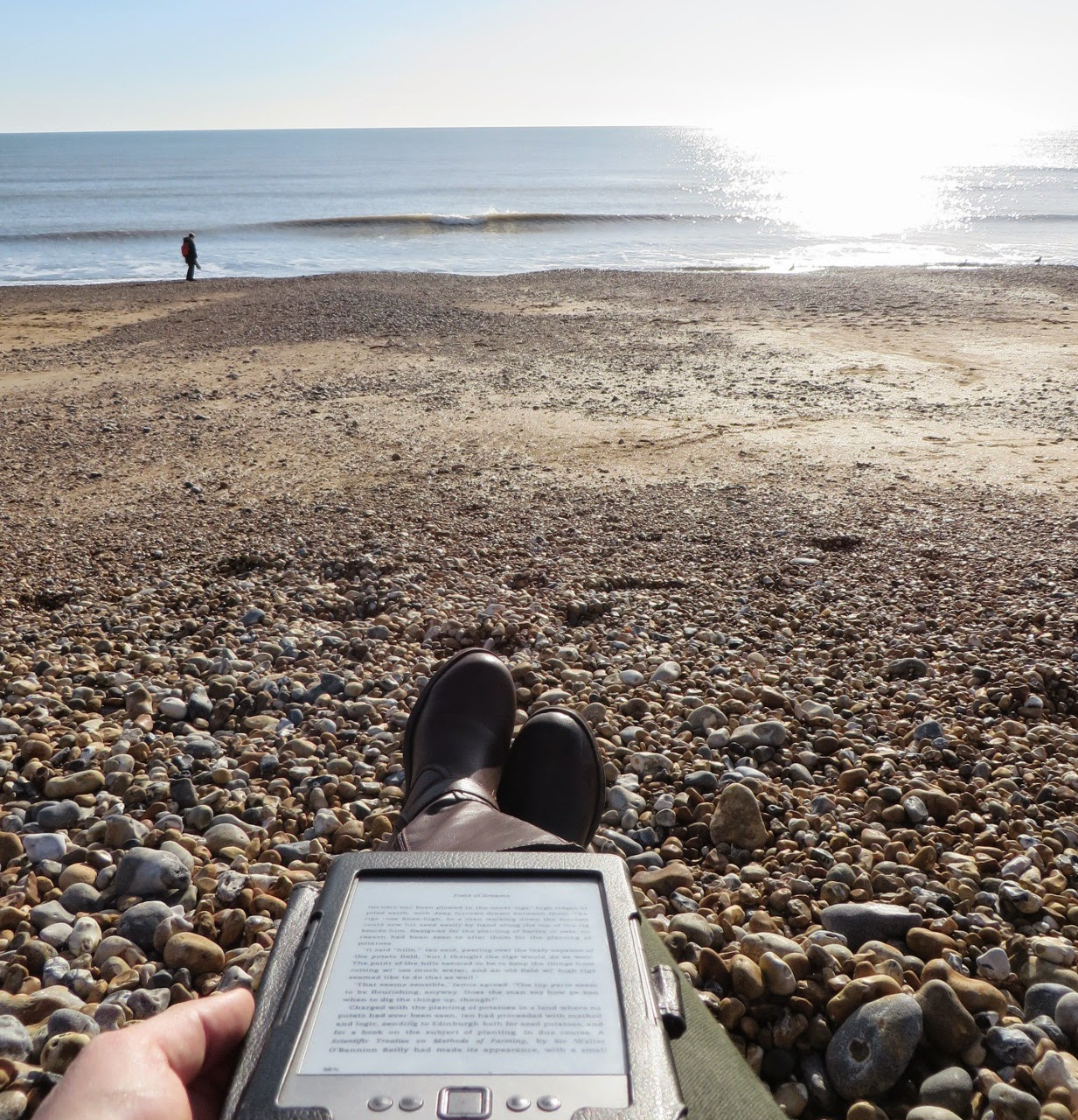 Brighton Beach, Stones, Waterfront, Seashore, Book, Kindle, Winter