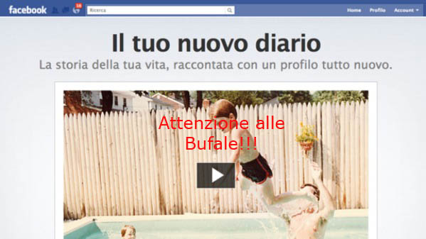 algoritmo bufale social network