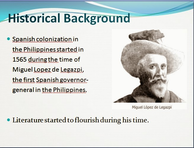 examples of early philippine literature Why we need to study philippine literature  examples: bayani ng bukid by al perez  in the early time,.