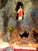 H. Hart - kapelletje in grot - Missieklooster