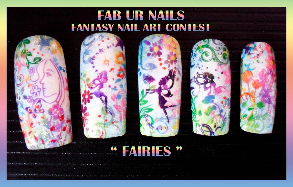 FAB UR NAILS: FANTASY NAIL ART CONTEST