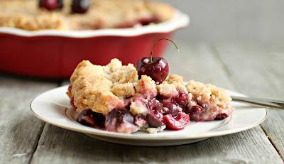Deep Dish Cherry Crumb Pie