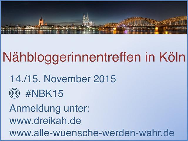 Nähbloggerinnentreffen in Köln