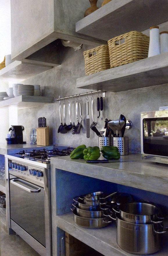 Top Cucina In Cemento. Latest Top Cucina Legno Massello Emejing ...