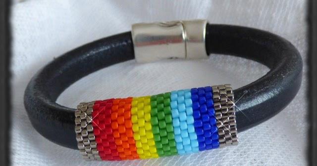 Myl ne bijoux bracelet arc en ciel brazalete arco iris - Bracelet arc en ciel ...