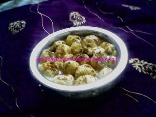 recipe of pakori raita