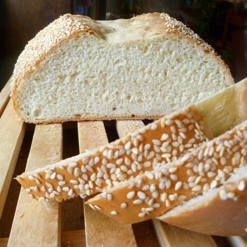 Cookistry: Sesame White Bread - the long and short versions