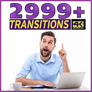 2999 إنتقال لجميع برامج المونتاج
